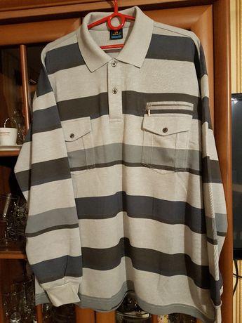 Nowa męska bluzka w paski XXXL