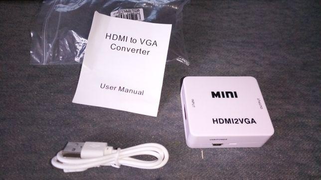 Переходник с HDMI на VGA