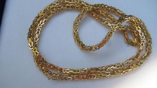 Złoty Łańcuszek KRÓLEWSKI - 585 - 55 CM - Wwa