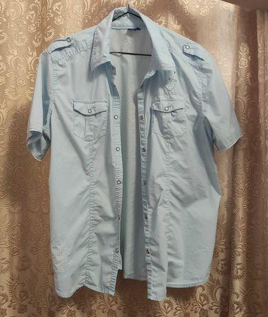 рубашка  джинсовка cecil