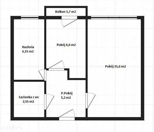 TOP lokalizacja L.S.M./WIDOKOWE / FUNKCJONALNE/2 pok.36 m2