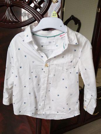 Сорочка zara для хлопчика