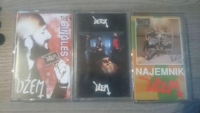 dżem detox, najemnik, the singles 3 kasety