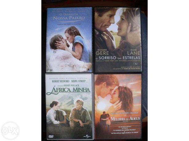 Vários Romances e dramas em DVD