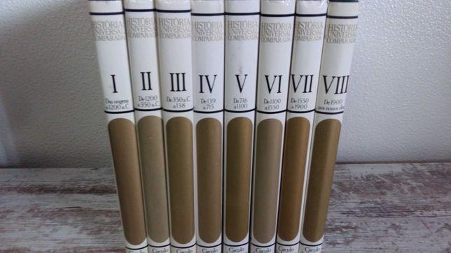 Livro Coleção História Universal Comparada