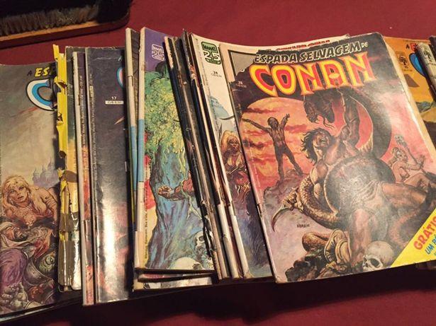 Livros Conan antigos