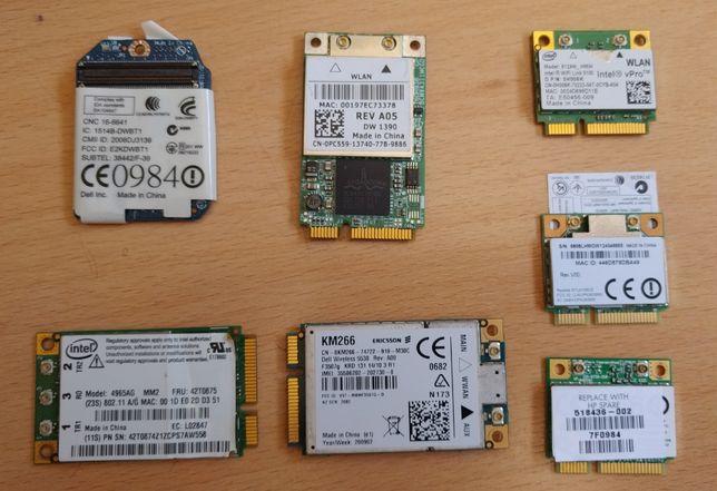 Placas de Rede wifi para computadores portateis antigos e recentes