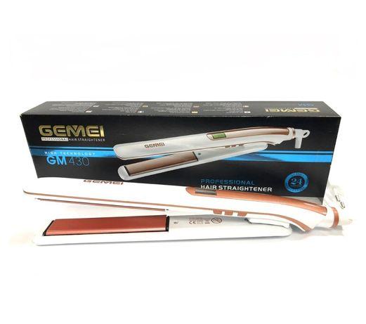Профессиональная плойка выравниватель для волос Gemei GM-430, 416
