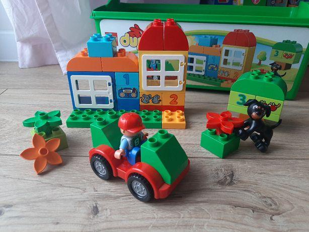 LEGO DUPLO 10572 Zestaw uniwersalny 65 KLOCKÓW + PUDEŁKO
