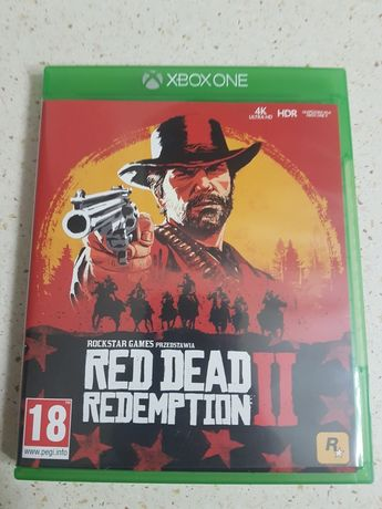 Red dead dedemption 2, Gra gry Xbox one
