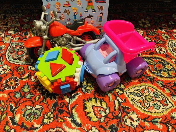 Набор игрушек развивающих сортер