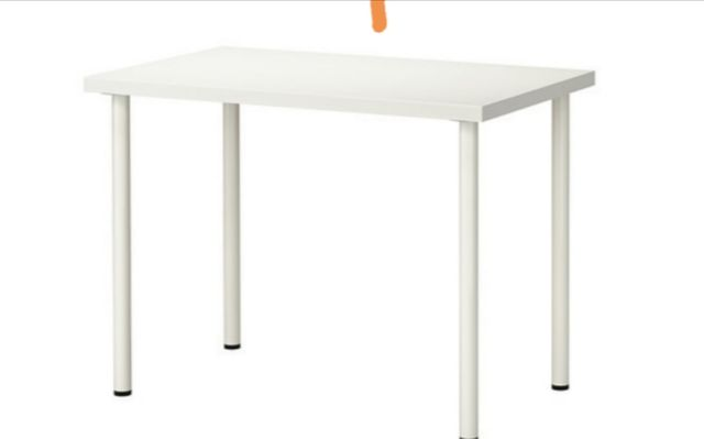 Stół biały Ikea Linnmon