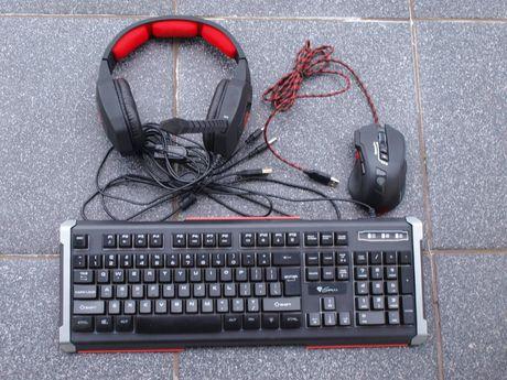 Genesis zestaw gracza: klawiatura, mysz