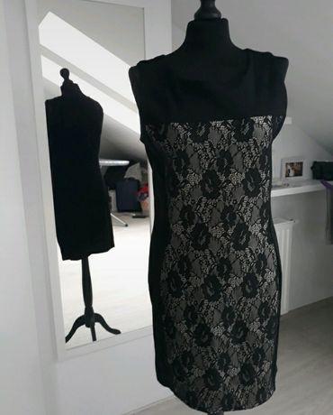Sukienka optycznie wyszczuplająca rozmiar L