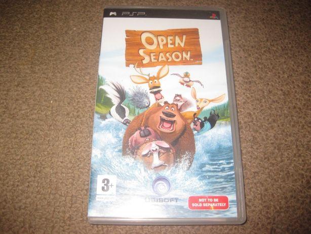 """Jogo para a PSP """"Open Season"""" em Excelente estado!"""