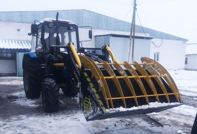 GENERAL 2000 Погрузчик КУН на трактор с ковшом с захватом на МТЗ, ЮМЗ