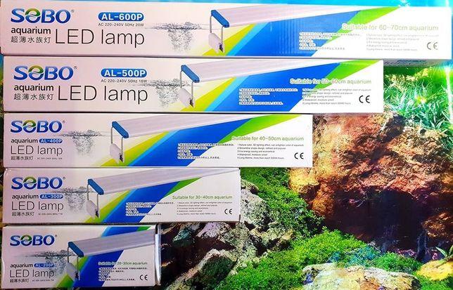 Iluminação LED RGB para aquários SOBO AL-200P (novo)