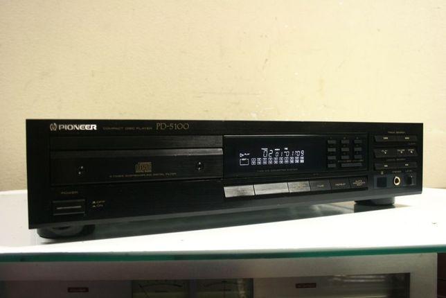 Trwały klasyk! Odtwarzacz CD PIONEER PD-5100 /Ładny i sprawny. Wysyłka