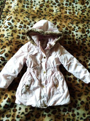 Зимня куртка на дівчинку