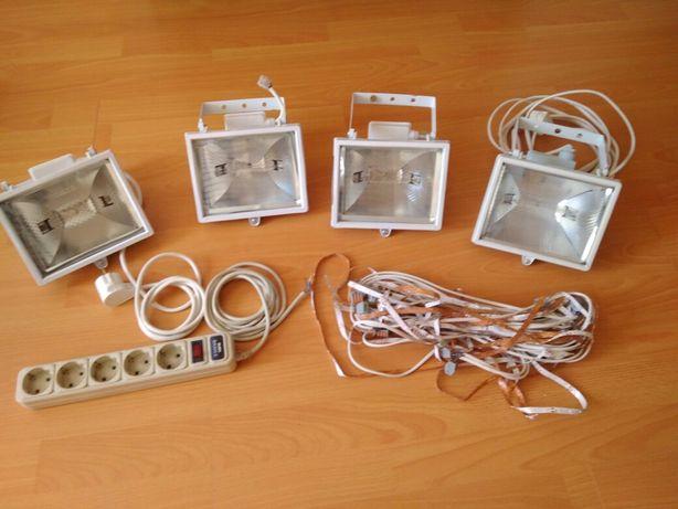 Осветительные прожектора 4 шт