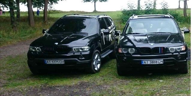 Весільний кортеж BMW X5 авто на весілля,зустріч та супровід гостей