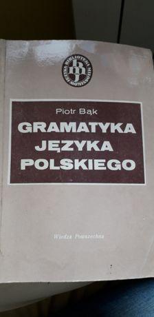 Gramatyka języka polskiego Piotr Bąk