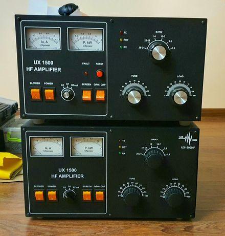 Усилитель 1500 Ватт  160...10м ГУ-74Б х2шт UX1UX