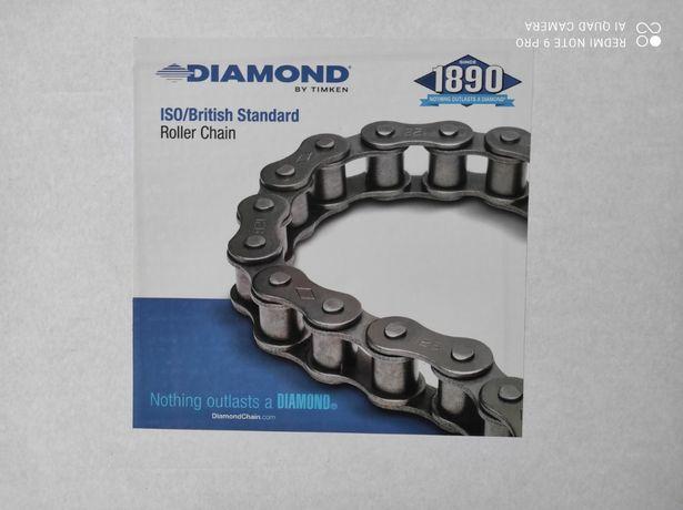 Łańcuch rolkowy 16B-2 calowy dwurzędowy DIAMOND najwyższa jakość