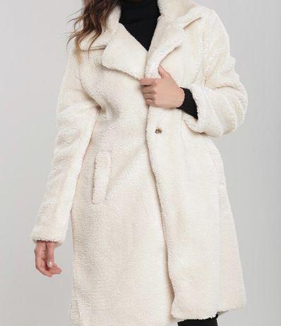 Płaszcz na zimę futro NOWY. Moncler chanel prada gucci ysl