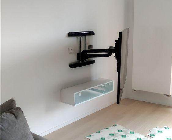Konfiguracja kina domowego, montaż telewizorów, maskowanie przewodów