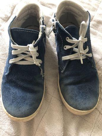 Ботинки на мальчика ( кожа)