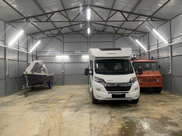 Przechowalnia/zimowanie kamperów, przyczep, łodzi oraz innych pojazdów