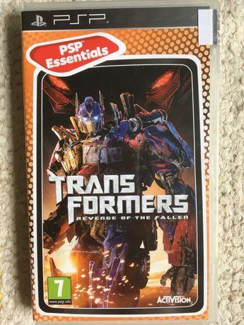Jogo PSP Transformers: Revenge of the fallen