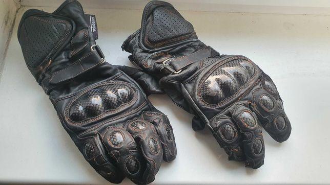 Rękawice Motocyklowe Nazran Skóra i Karbon XL okazja