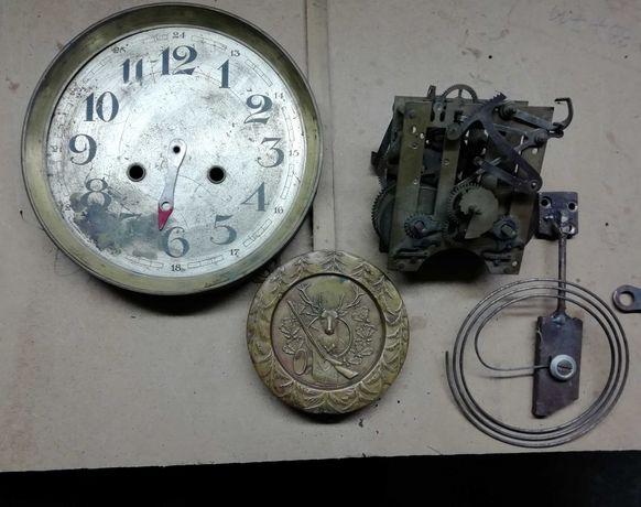 Mechanizm zegara, tarcza, wahadło
