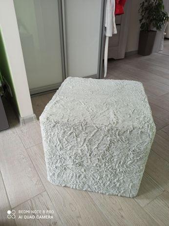 Puf pufa szara 40x40x39