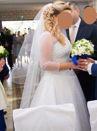 Suknia ślubna z kolekcji DIAMOND roz.38 ,OKAZJA, ułamek ceny