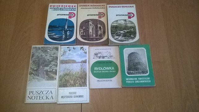 Stare przewodniki po Polsce - Okazja !!! ZESTAW dla koneserów