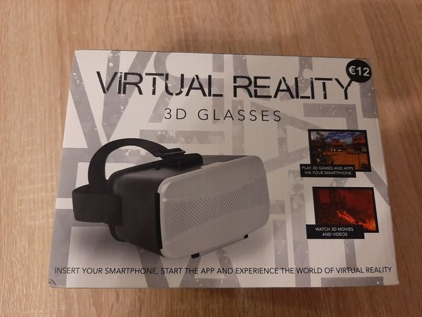 Okulary 3D do smartfona,  wirtualne gogle