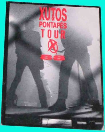 Xutos & Pontapés Bilhetes CD Promo Convites CD Singles