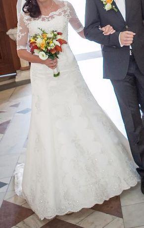 suknia ślubna annais bridal - almond