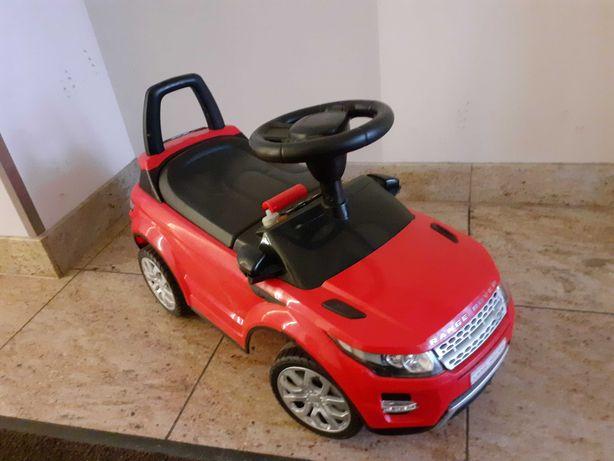 Jeździk Pchacz Land Rover (czerwony)