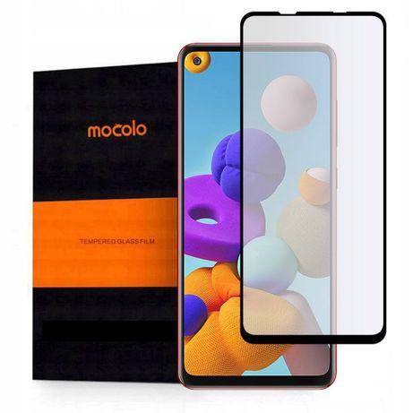 Szkło Hartowane Mocolo Tg+Full Glue Samsung A21S Black