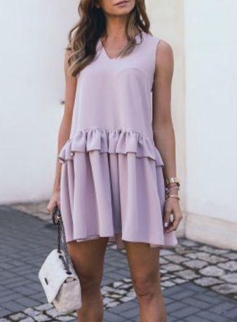 Stone skirts nowa przepiękna sukienka wrzosowa r S 34/36