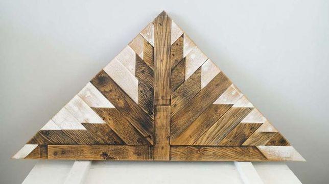 Dekor z drewna