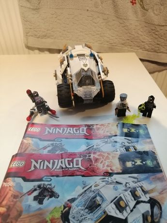 Lego 70588 samochód tytanowego ninja