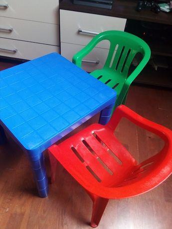 Stoliczek i krzesełka