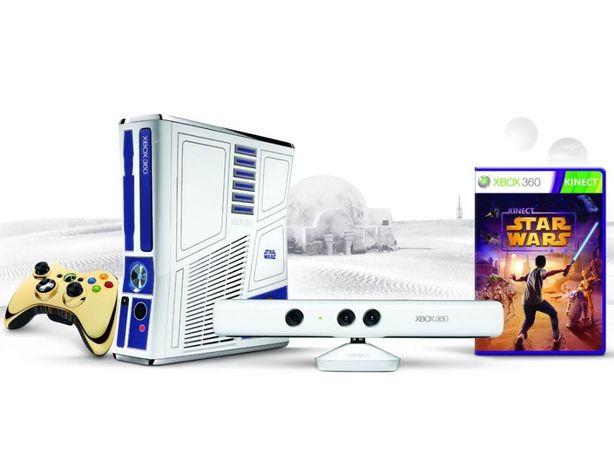 Konsola Xbox 360 Star Wars Edition + dodatki