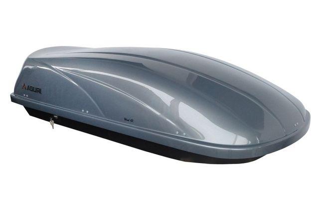 Box dachowy bagażnik Aguri Wind 430 srebrny