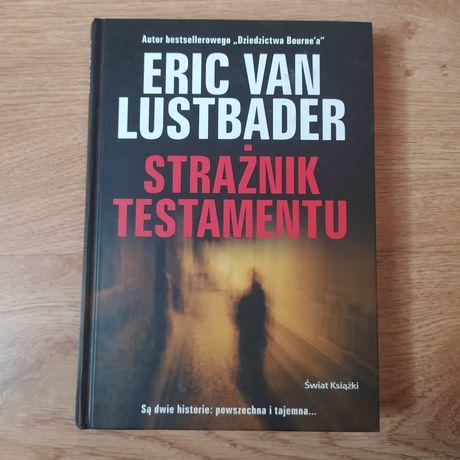 "Książka ""Strażnik testamentu"" Eric Van Lustbader"